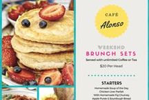 Canva layouts: Food & Drink Menus / by Canva