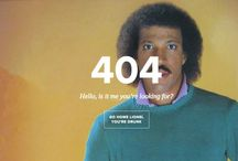 404 Pages / We want to click on a broken link on these websites. / by Canva