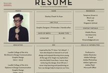 Resume Designs / Some of the best resumes we've found.