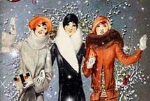 Style: Vintage Holiday / Holiday inspiration from my favorite eras 1920s - 40s