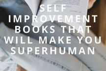 Self Improvement / We can all use a daily dose of growth. Find motivational and self improvement tips here!  Daily motivation, self help, self improvement