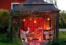 BACKYARD:Bliss / the type of magical back yard that feels like you've stepped into that special quiet and lovely place far far away... / by Candace J Metzger | Artist & Designer
