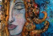 My art / I am an mixed media art creater