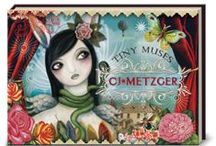 The Artist Sisters / So I have to toot my own horn just a bit here. Tah-dah! Here's a board featuring some of the creative exploits of The Artist Sisters Miss Mindy & CJ Metzger (that's me!!) / by Candace J Metzger | Artist & Designer
