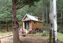 tiny houses for real-sized people / Exteriors and interiors
