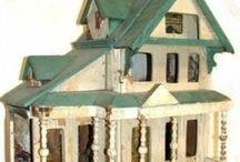 wee houses for wee people / playhouses, dollhouses, dollhouse miniatures, dog houses, bird houses