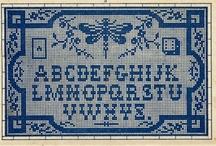 Sampler alphabets #inspirations