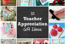 Teacher Gifts / Gift ideas for teachers for the beginning of the year, Christmas, Valentine's Day, Teacher Appreciation Week, and the end of the year