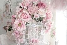 VINTAGE DREAMS - Birdcages / Birdcages decorated in a beautiful shabby chic style. / by Diane Blair