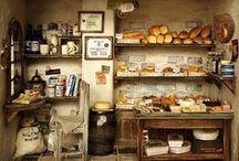 A Little World - MINIATURES / Dollhouses, miniatures, and mini decorated rooms. / by Diane Blair