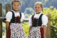 dirndl / Traditional and not so traditional styles / by Cesca Faber