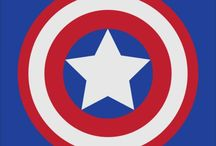 Captain America / Steve Rogers / by Cesca Faber