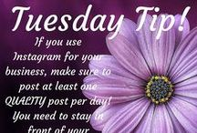Tuesday Tip / Social media tips and advice in short snippets
