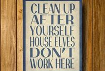 Cleaning and Organizing / Tips and tricks for cleaning and organizing around the house.