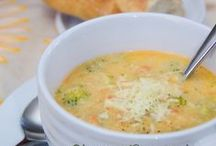 Soup and biscuits!