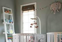 Twins Room / Gender neutral baby twins rooms, a girl and a boy specifically. Very special and selected design, with not obvious solutions and decor.
