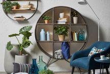 Гостиная / Идеи интерьеров гостиных в различных стилях. Коллажи и подборки мебели, светильников и декора для гостиной.