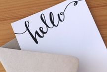 For my Stationery / by Sarah George