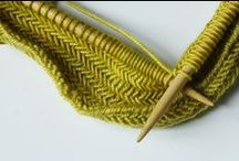knitting / Modern and classic knitting patterns and great knitting tips