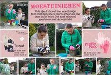 """KIXX ♥ (G)Loves Kids """"To Impress!"""" / Tasty Kids gloves """"to protect and impress"""". Kinderen willen graag meehelpen in de tuin. Veilig & cool, dat gaat samen met de #handschoenen uit  KIXX Kids line. Vanaf maatje 4, de kleinste maat in handschoenen."""
