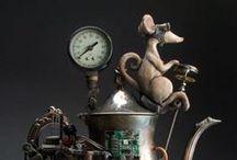 Steampunk! / The funkier the better!  I love Steampunk! / by Monica Wilson