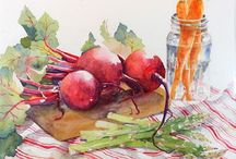 Watercolors / The world of watercolor