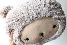 A . Plushies , Softies, Felties <3 / by Marci Hunter (Plusheez)