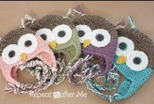 Free Crochet Patterns / Free Crochet patterns! I can't wait to work on some projects :D / by My Life, Blogged.