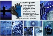 "KIXX ♥ (G)Loves Beasty Blue ""To Impress! "" / Beasty Blue is a knitted nylon/latex glove and the best allround glove for all kinds of jobs in the garden or around the house. We share our Beasty Blue moodboard with you!"