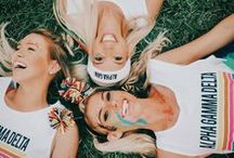 live with purpose. / Alpha Gamma Delta