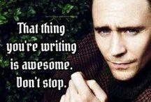 Writing / Advice and inspiration for writers. And wannabe writers.