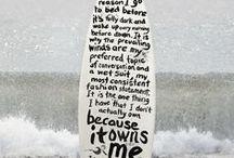 Rasmus's surfboard