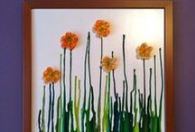Spring crafts and activities! / Spring-themed crafts and activities for kids