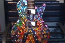 Mosaic Guitars / by Debra Perez