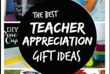 Teacher gift ideas / Teachers change the world! Here are fun and creative ways to tell them thank you. Teacher gift ideas for every budget.
