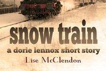 Snow Train - a Dorie Lennox short story / Read the mystery short story featuring Kansas City private detective, Dorie Lennox. More at http://lisemcclendon.com