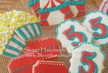 Kids Themed Decorated Cookies / Children's favourites in cookie form!