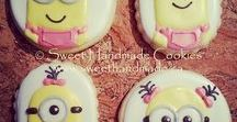 Girly Cookies / Decorated cookies with a feminine touch.
