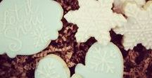Winter Themed Cookies / Cookies that celebrate the winter season.