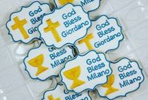 Religious Themed Cookies / Cookies for Christenings, Confirmations and Baptisms