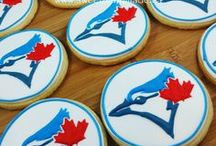 Logo Cookies / Cookies decorated with logos.