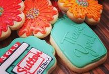 Real Estate Themed Cookies / Cookies to celebrate real estate success.