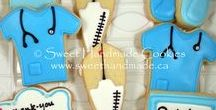 Medical Themed Cookies / Decorated cookies with a medical theme.