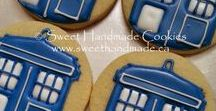 Doctor Who Themed Cookies