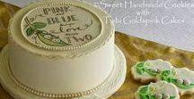 Sweet Handmade Cookies/Tobi Goldspink Cake Collaboration