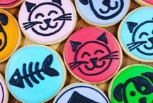 Animal Cookies / These cookies are all created by me.  Animal themed cookies, use them for inspiration for your next design.