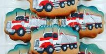 Transportation Cookies
