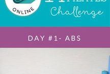 14 Day Pilates Challenge // Day 1 - Abs