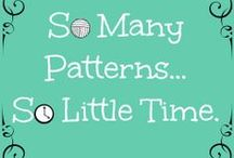 So many patterns, so little time / All the knitting I can handle / by Sarah Sexton