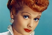 Lucille Ball / Lucille Ball, the famous red-head, was known for her comedy, the tv show I Love Lucy, and also for her fashion. She was a classic beauty in the 1930's-1960's era, but was also stunning even into her later years. She pushed the boundaries for women everywhere: in fashion, business, and everyday life. If she could be summed up in one word: revolutionary.  / by Kirstie Abel